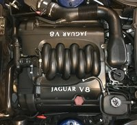 Picture of 1998 Jaguar XK-Series XK8 Coupe, engine, gallery_worthy