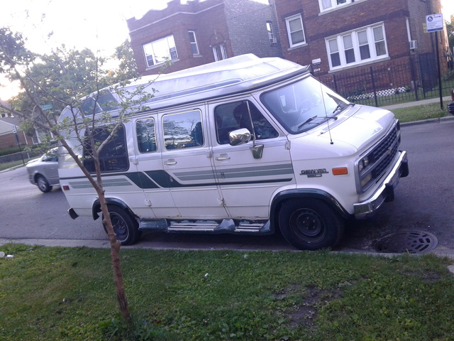 Picture of 1992 Chevrolet Chevy Van 3 Dr G20 Cargo Van Extended, exterior, gallery_worthy