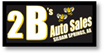 2 B's Auto Sales logo