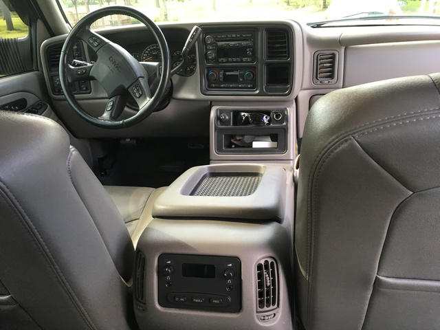 Picture of 2005 GMC Sierra 3500 4 Dr SLT 4WD Crew Cab LB DRW, interior, gallery_worthy