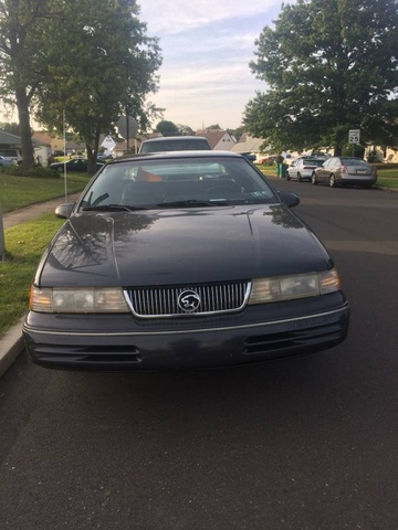 Picture of 1993 Mercury Cougar 2 Dr XR7 Coupe