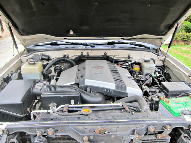Picture of 2003 Lexus LX 470 4WD, engine, gallery_worthy