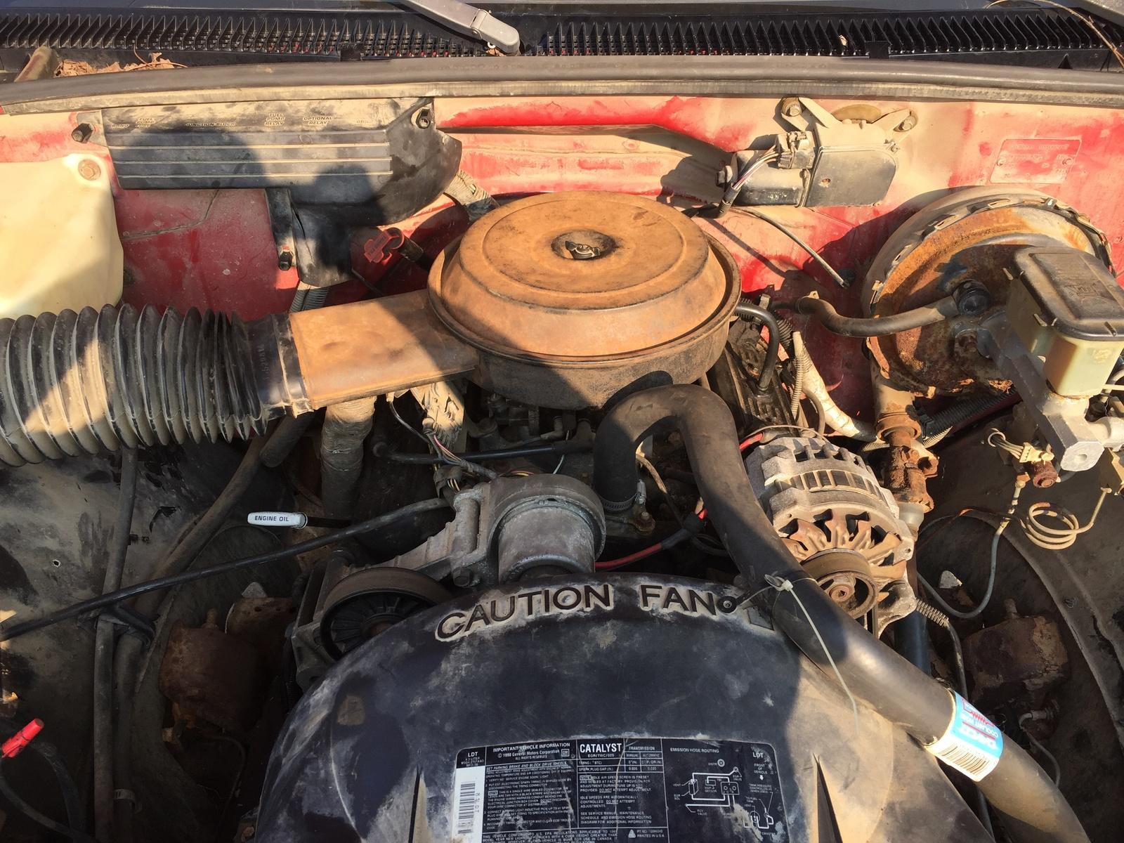 91 chevy silverado engine