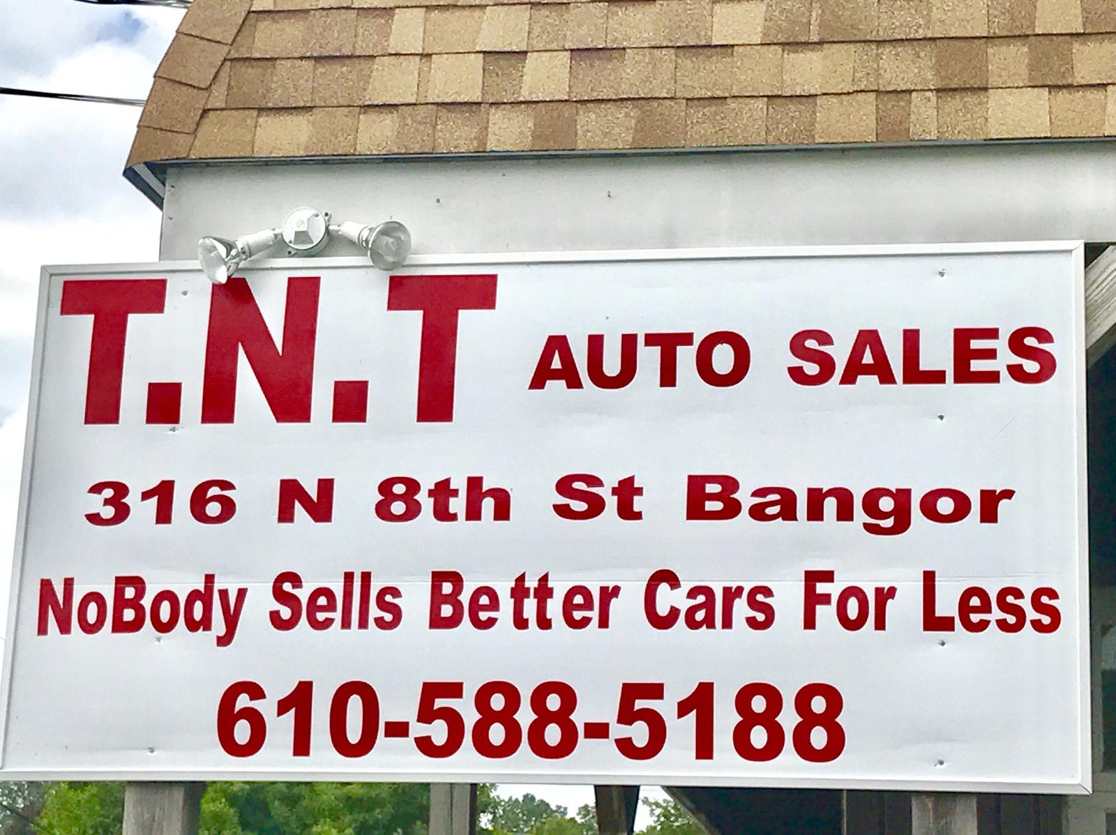 Tnt Auto Sales >> Tnt Auto Sales Bangor Pa Read Consumer Reviews Browse
