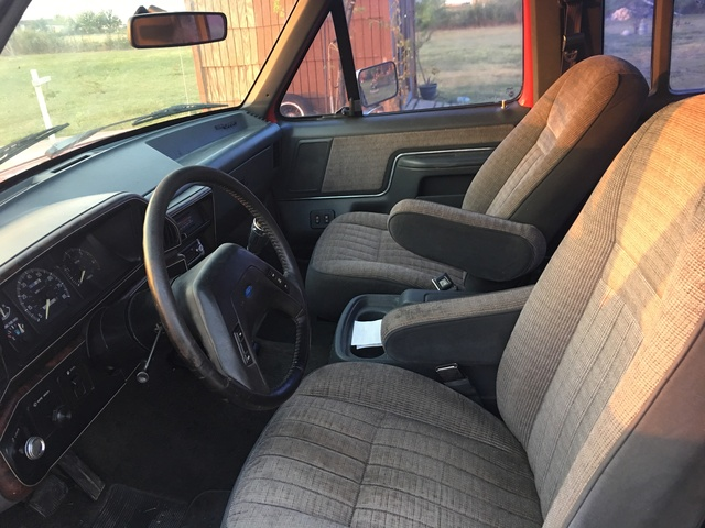 Picture of 1989 Ford F-350 XLT Lariat Extended Cab LB, interior, gallery_worthy