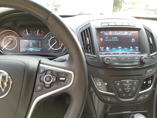 2017 Buick Regal Interior Pictures Cargurus