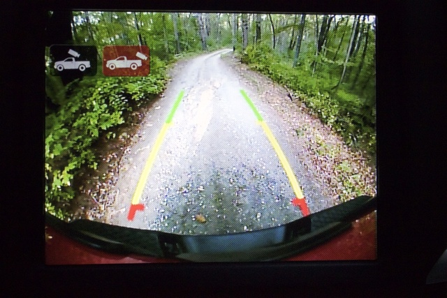 Reversing camera display of the 2017 Ram 2500 Power Wagon, gallery_worthy