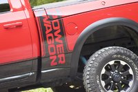 Side badging of the 2017 Ram 2500 Power Wagon, exterior, gallery_worthy