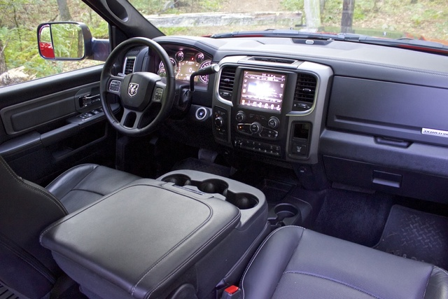 Cabin of the 2017 Ram 2500 Power Wagon, gallery_worthy