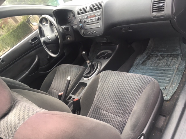 Good Picture Of 2001 Honda Civic Coupe DX, Interior, Gallery_worthy