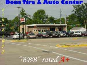 Dons Used Cars >> Dons Tire & Auto - Butler, WI: Read Consumer reviews ...