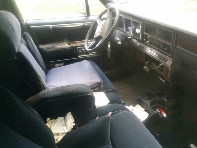 1988 Lincoln Town Car Interior Pictures Cargurus