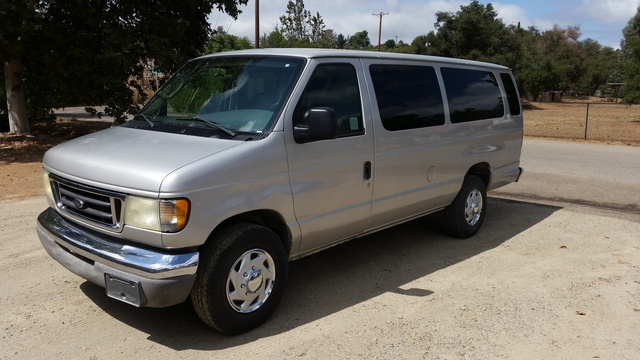 Picture of 2003 Ford E-Series E-350 Super Duty XL Extended Passenger Van, exterior, gallery_worthy