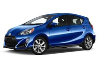 2018 Toyota Prius c, Front-quarter view, gallery_worthy