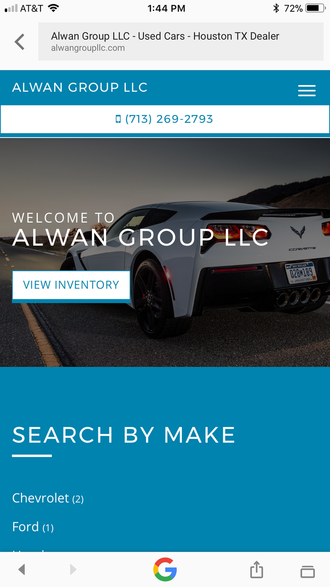 Alwan Group LLC - Houston, TX: Read Consumer reviews, Browse Used and New Cars for Sale