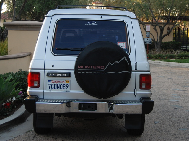 Picture of 1989 Mitsubishi Montero LS 4WD, exterior, gallery_worthy