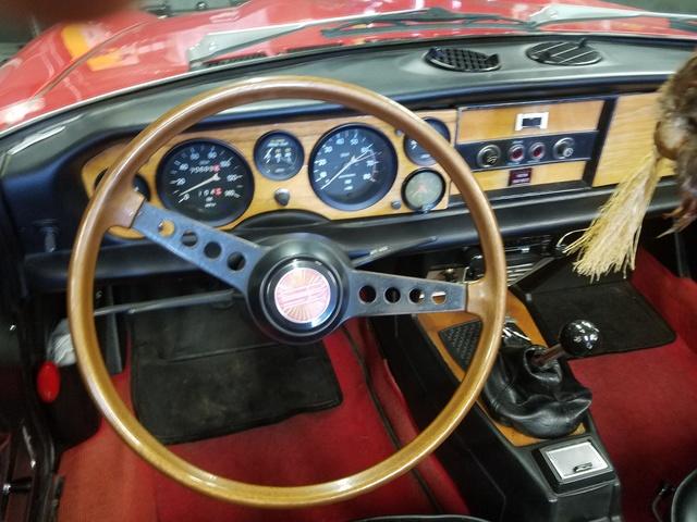 1974 FIAT 124 Spider - Interior Pictures - CarGurus