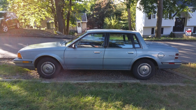Picture of 1985 Buick Century Custom Sedan FWD, exterior, gallery_worthy