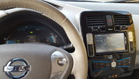 Picture of 2015 Nissan Leaf SV, interior, gallery_worthy