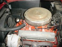 Picture of 1956 Chevrolet Corvette Convertible Roadster, engine, gallery_worthy