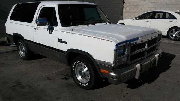 Picture of 1992 Dodge Ramcharger 2 Dr 150 S SUV