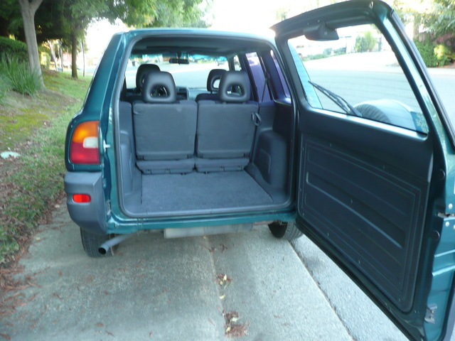 Picture Of 1997 Toyota RAV4 4 Door AWD, Interior, Gallery_worthy