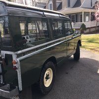 1965 Land Rover Series IIA Overview