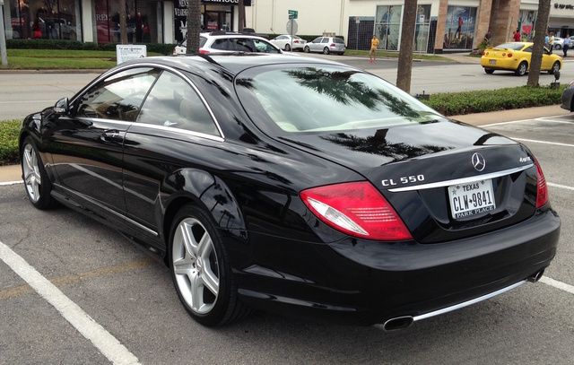 Picture of 2009 Mercedes-Benz CL-Class CL 550 4MATIC