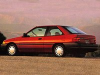 Picture of 1992 Ford Escort 2 Dr LX Hatchback, exterior, gallery_worthy