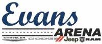 Evans Arena Chrysler Dodge Jeep Ram logo