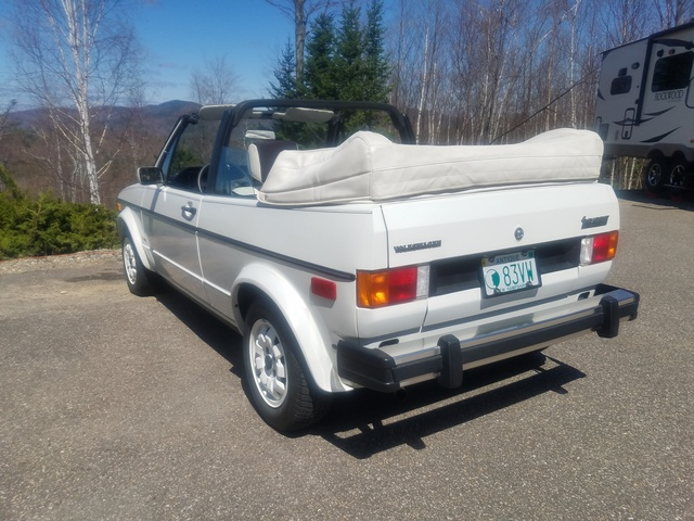 Picture of 1983 Volkswagen Rabbit 2 Dr Base Convertible, exterior, gallery_worthy