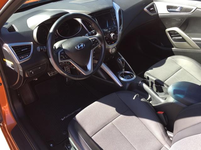 2016 Hyundai Veloster Interior Pictures Cargurus