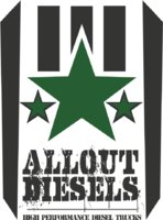 All Out Trucks and Diesel logo