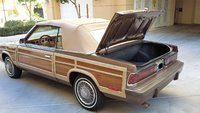 Picture of 1986 Chrysler Le Baron Mark Cross Town and Country Convertible, exterior, gallery_worthy