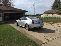 Picture of 2011 Cadillac CTS Coupe Performance AWD, exterior, gallery_worthy