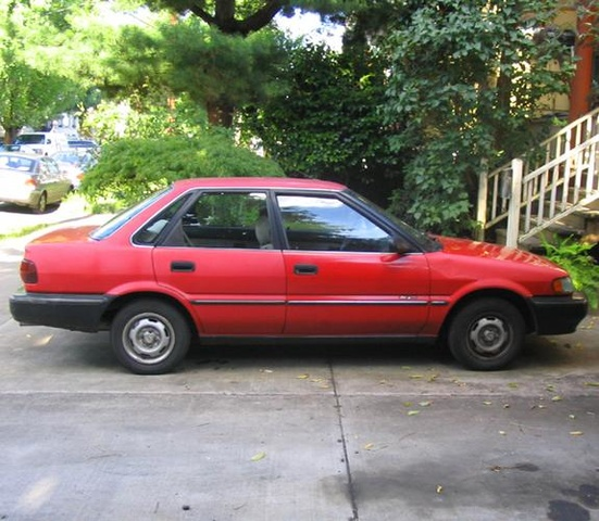 Picture of 1990 Geo Prizm 4 Dr STD Sedan