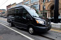 Picture of 2017 Ford Transit Passenger 350 XLT HD 3dr LWB High Roof DRW Extended Passenger Van w/Sliding Passenger Side Door, exterior, gallery_worthy