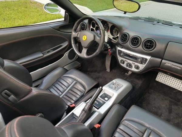 Used 2003 Ferrari 360 Modena for sale in Surrey | Pistonheads |Ferrari 360 Modena Interior