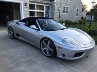 2001 Ferrari 360 Spider Picture Gallery