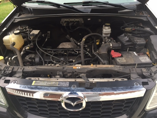 Picture of 2008 Mazda Tribute i Sport, engine, gallery_worthy