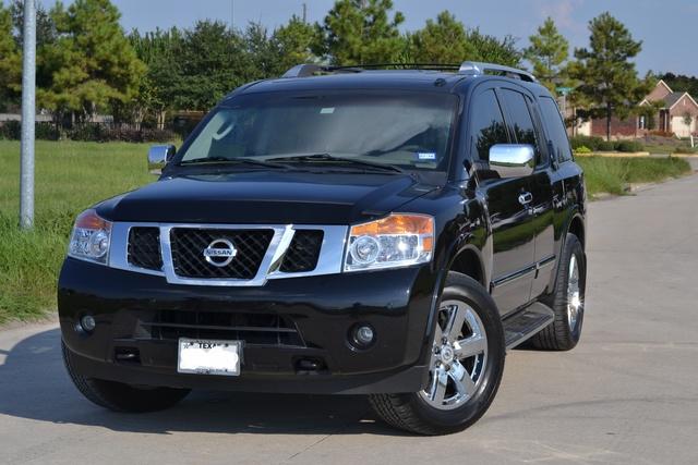 Picture of 2012 Nissan Armada Platinum, exterior, gallery_worthy