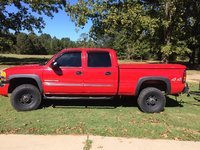 Picture of 2005 GMC Sierra 2500HD 4 Dr SLT 4WD Crew Cab SB HD, exterior, gallery_worthy