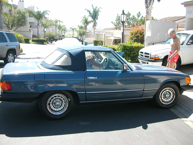 Picture of 1985 Mercedes-Benz SL-Class 380SL