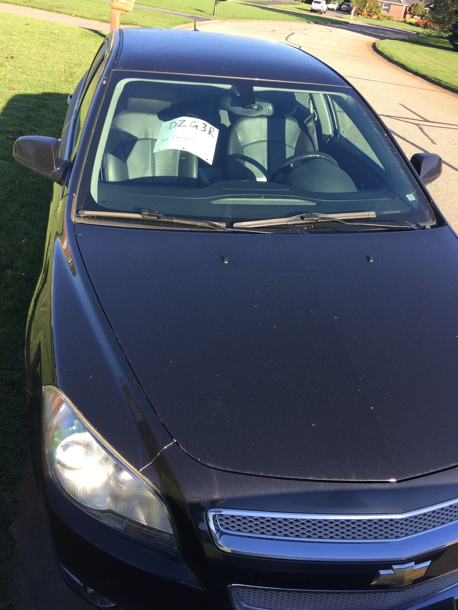Chevrolet Malibu Questions - I have people interested in buying my ...