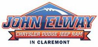 John Elway's Claremont Chrysler Dodge Jeep RAM logo