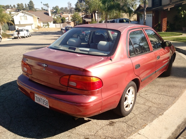 Picture of 1998 Chevrolet Prizm 4 Dr LSi Sedan, exterior, gallery_worthy