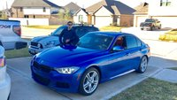 2013 BMW 3 Series 335i Sedan, Estoril Blue on Dakota Red Leather, exterior, gallery_worthy