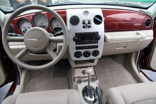 2008 Chrysler Pt Cruiser Interior Pictures Cargurus