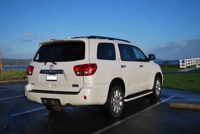 Picture of 2010 Toyota Sequoia Platinum 5.7L 4WD
