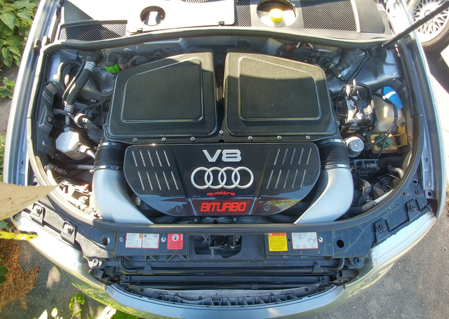 Picture of 2003 Audi RS 6 quattro Turbo AWD, engine, gallery_worthy